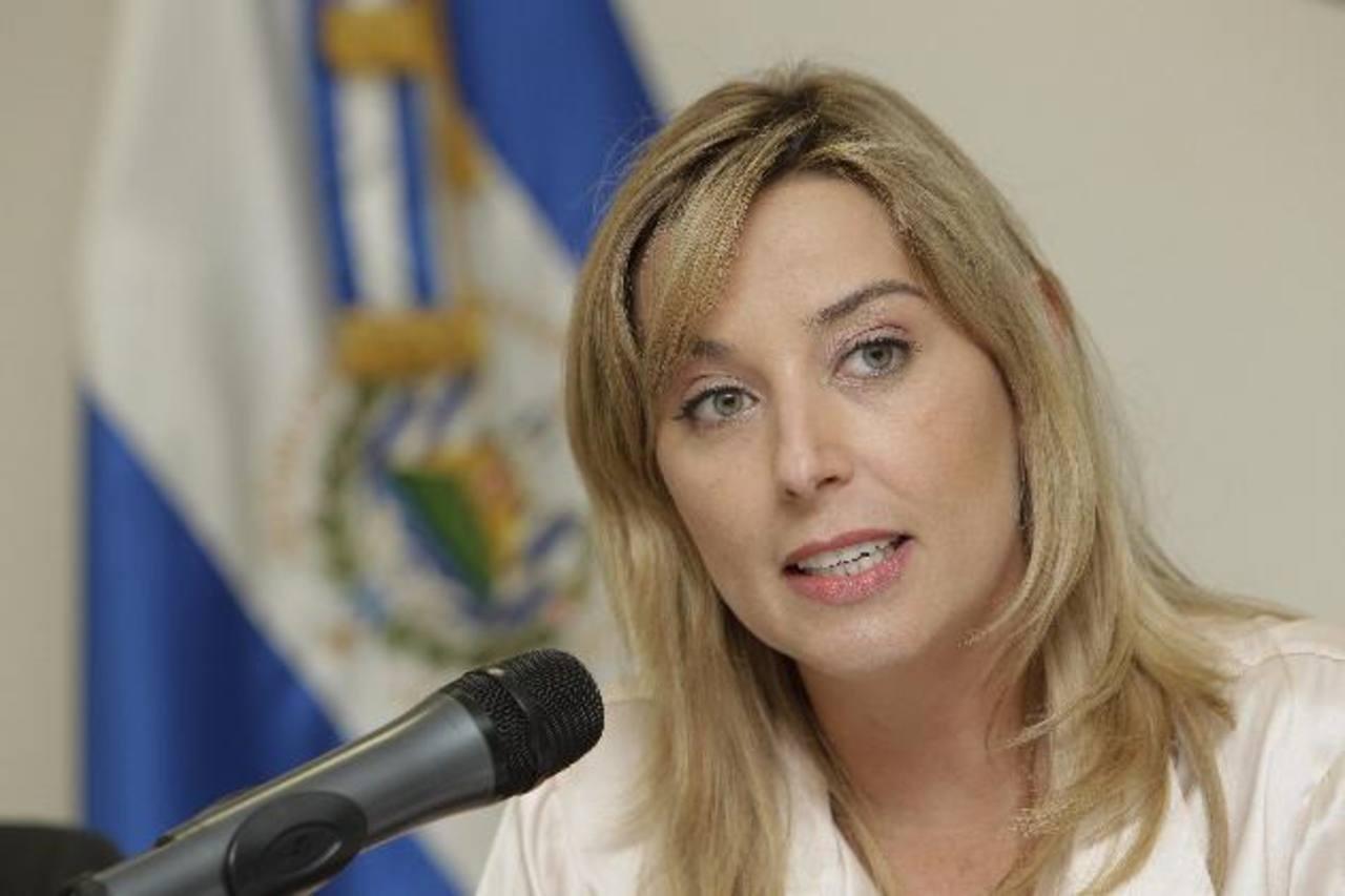 Gabriela Knaul es la Relatora Especial de la ONU sobre la Independencia de magistrados y jueces de El Salvador. Foto EDH / Archivo