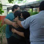 Una exgerente bancaria, esposo, hermana y cuñado quedaron libres, la Fiscalía dice apelará el caso. Foto EDH / jeny ventura