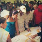 En el CIFCO se entregraron las primeras órdenes de pago para beneficiarios del Fonat. Foto EDH Jaime Anaya