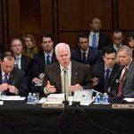 Miembros de la Comisión Judicial del Senado. Foto/ AP