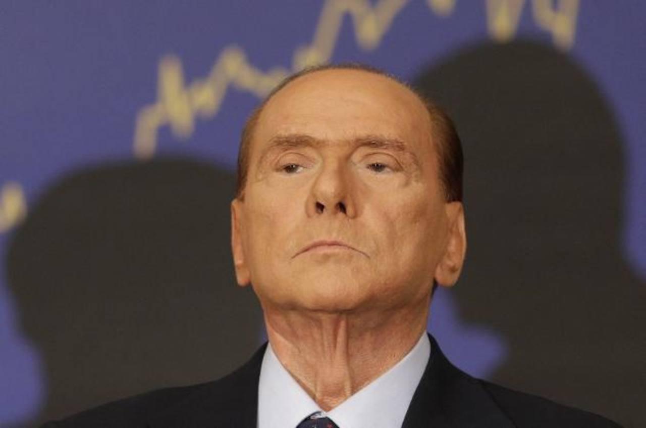 El ex primer ministro italiano Silvio Berlusconi. Foto/ AP