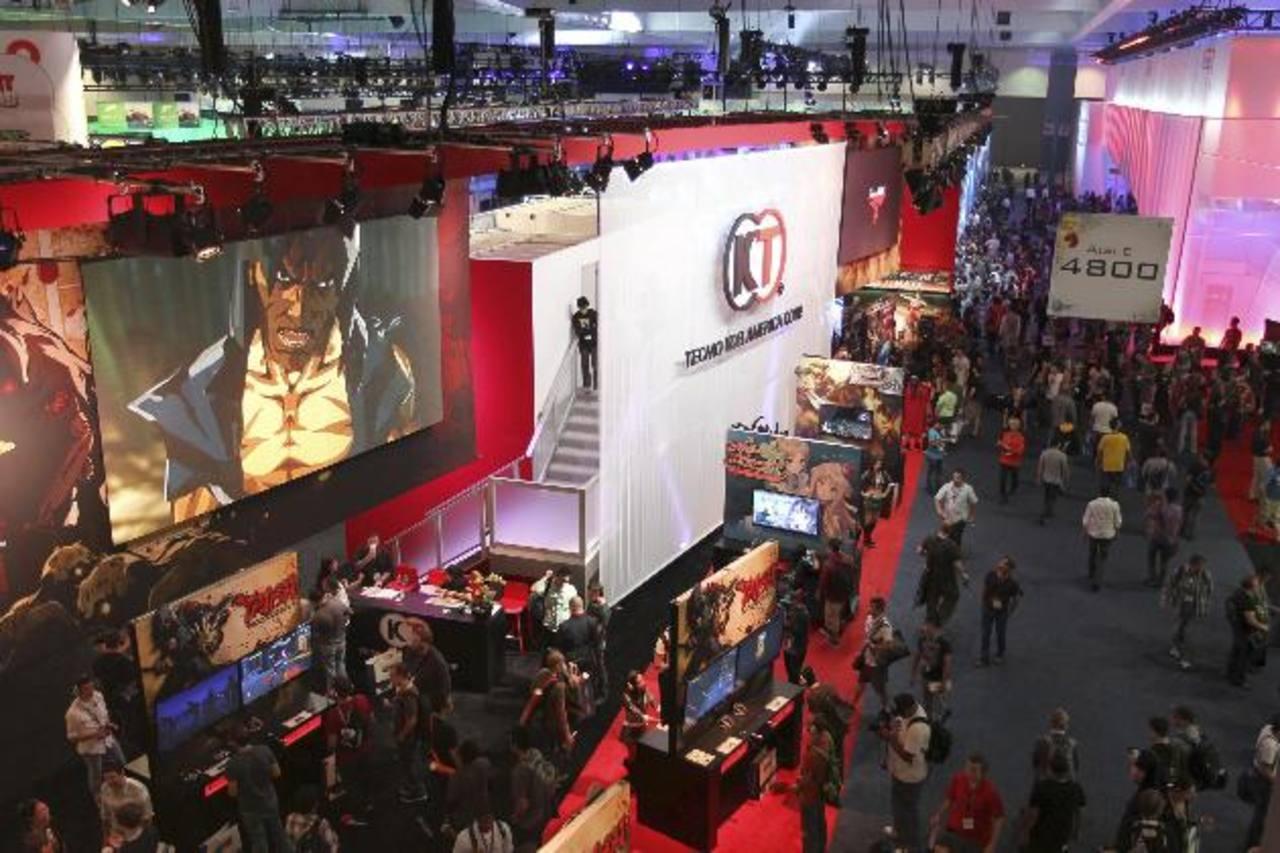 Visión general del West Hall, uno de los pisos de exhibición de la E3, en Los Ángeles.