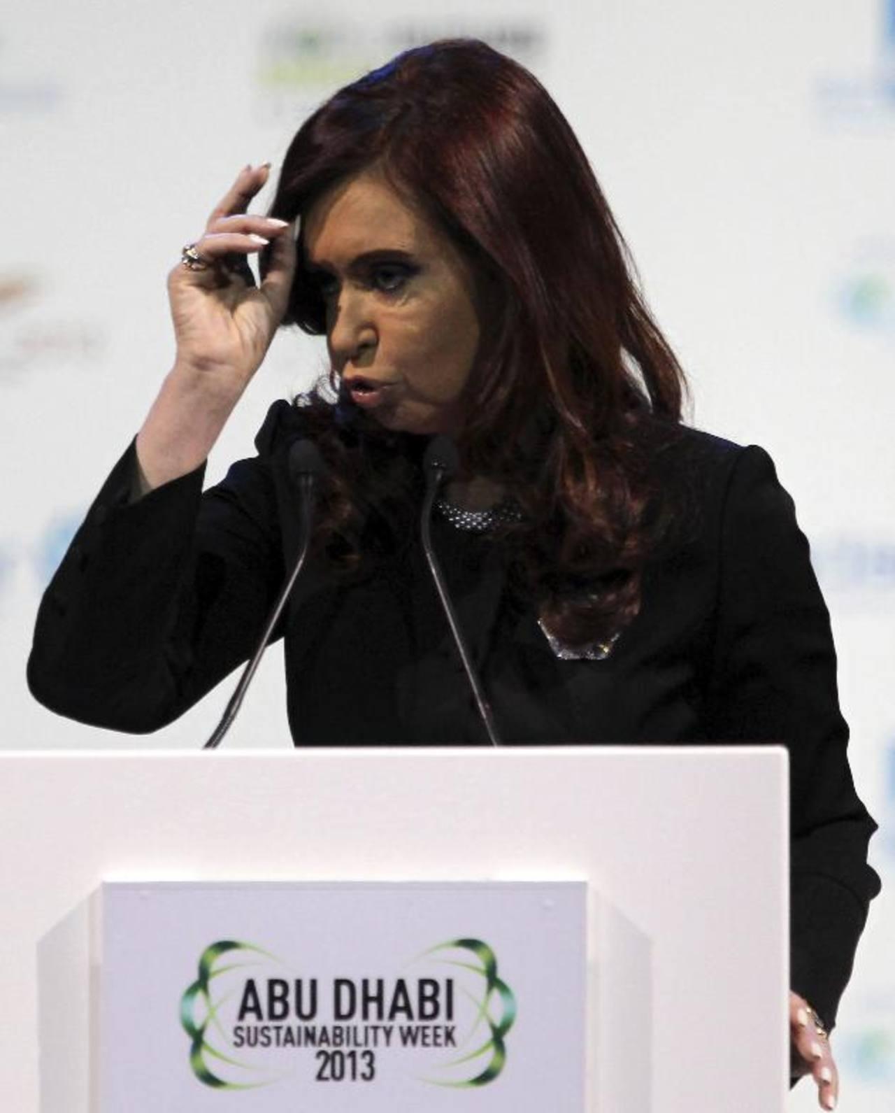 La presidenta Cristina Fernández relevó anoche a los cuatro comandantes de las fuerzas armadas. foto edh / archivo