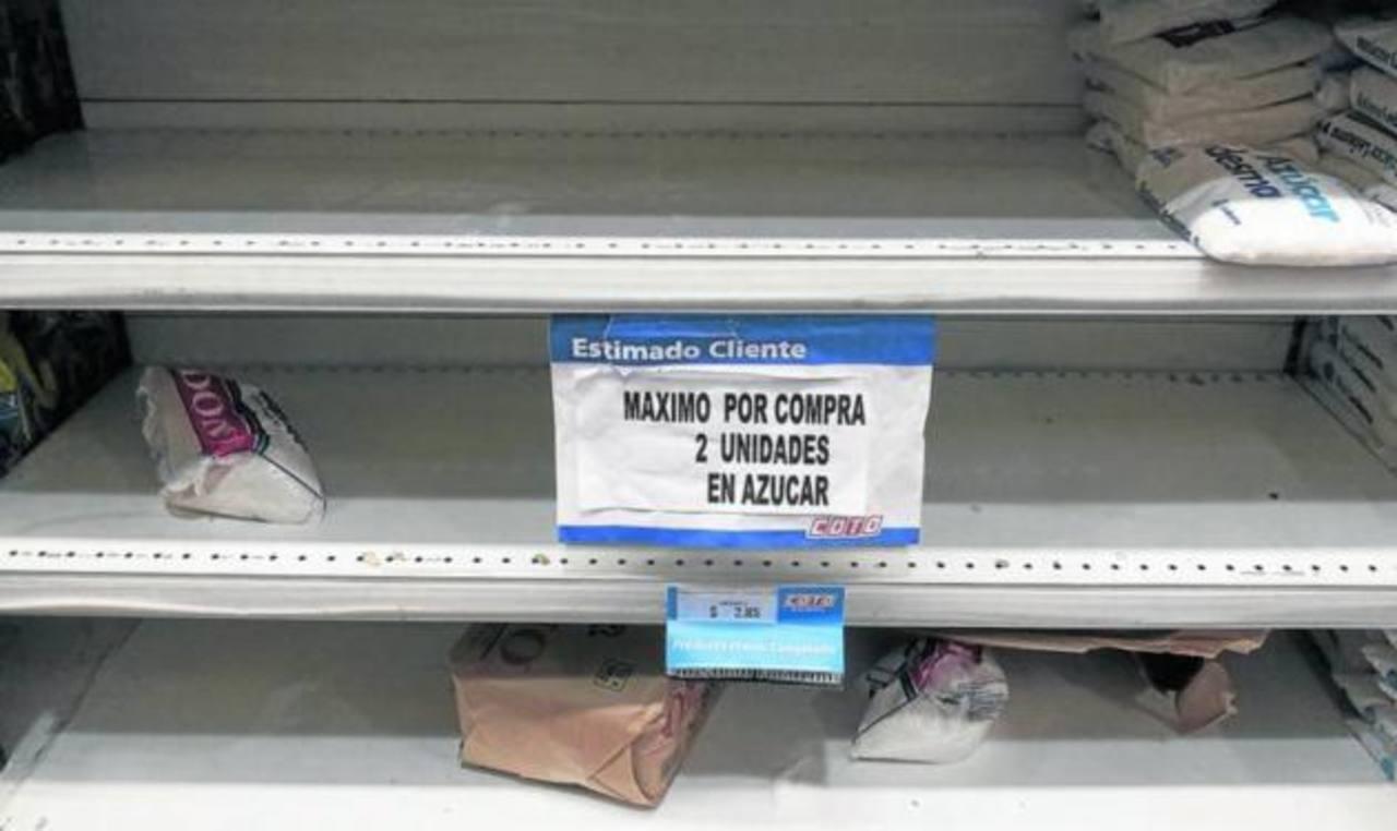 """Los supermercados aplican """"medidas de racionalización"""" a los productos con los precios controlados. foto edh / internet"""