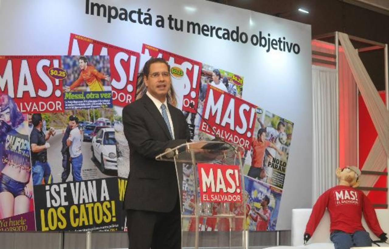 Fabricio Altamirano, Director Ejecutivo de Editorial Altamirano. foto edh / ericka chávez
