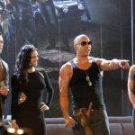 Los actores estadounidenses Luke Evans, Michelle Rodríguez, Vin Diesel y Gina Carano. Foto/ Archivo