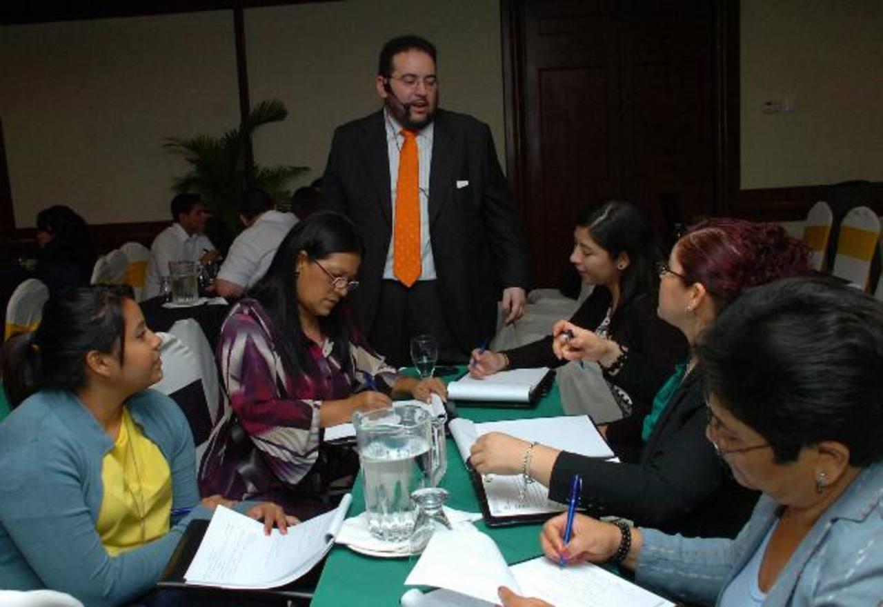 """Daniel Peña participó en 2012 en el seminario que trató el tema """"Analítica web: objetivos y estrategias en los Social Media""""."""