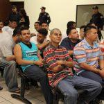 Todos los mareros tenían tatuajes de la pandilla 18. Operaban en Zacatecoluca, en La Paz. Son acusados de homicidio y agrupaciones ilícitas