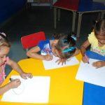 Los niños corren el riesgo de no asistir a sus clases educativas si el Mined no retoma el proyecto. FOTO EDH / M. HERNÁNDEZ