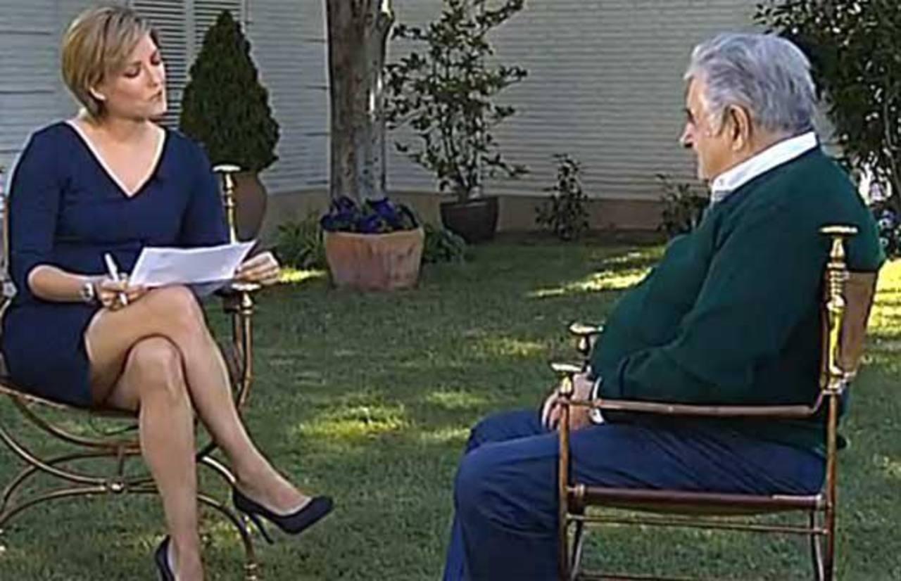 En la charla, Mujica habló sobre aspectos de su gobierno, pero sobre todo de su filosofía de vida.