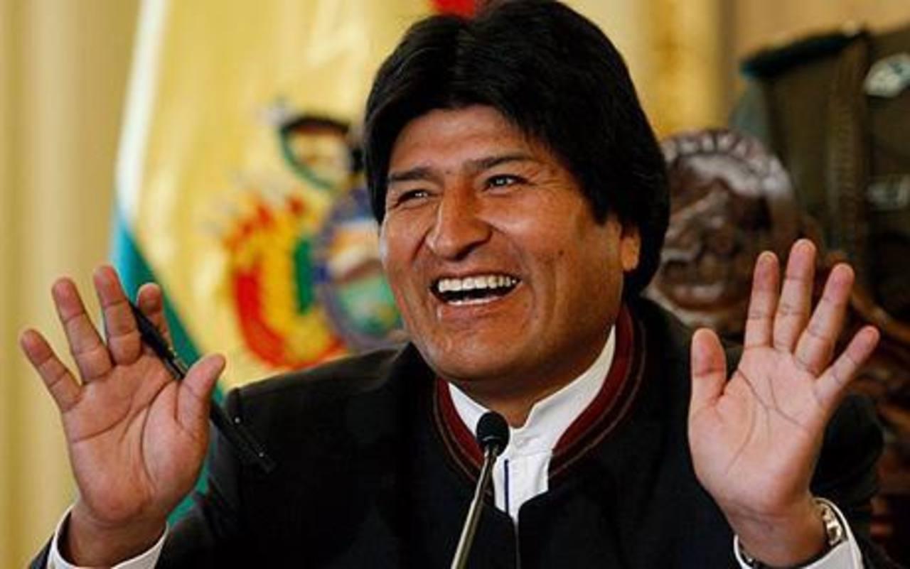 Evo Morales no precisó si hubo fondos venezolanos usados de forma directa en la compra de las naves. foto edh / xxxxx x