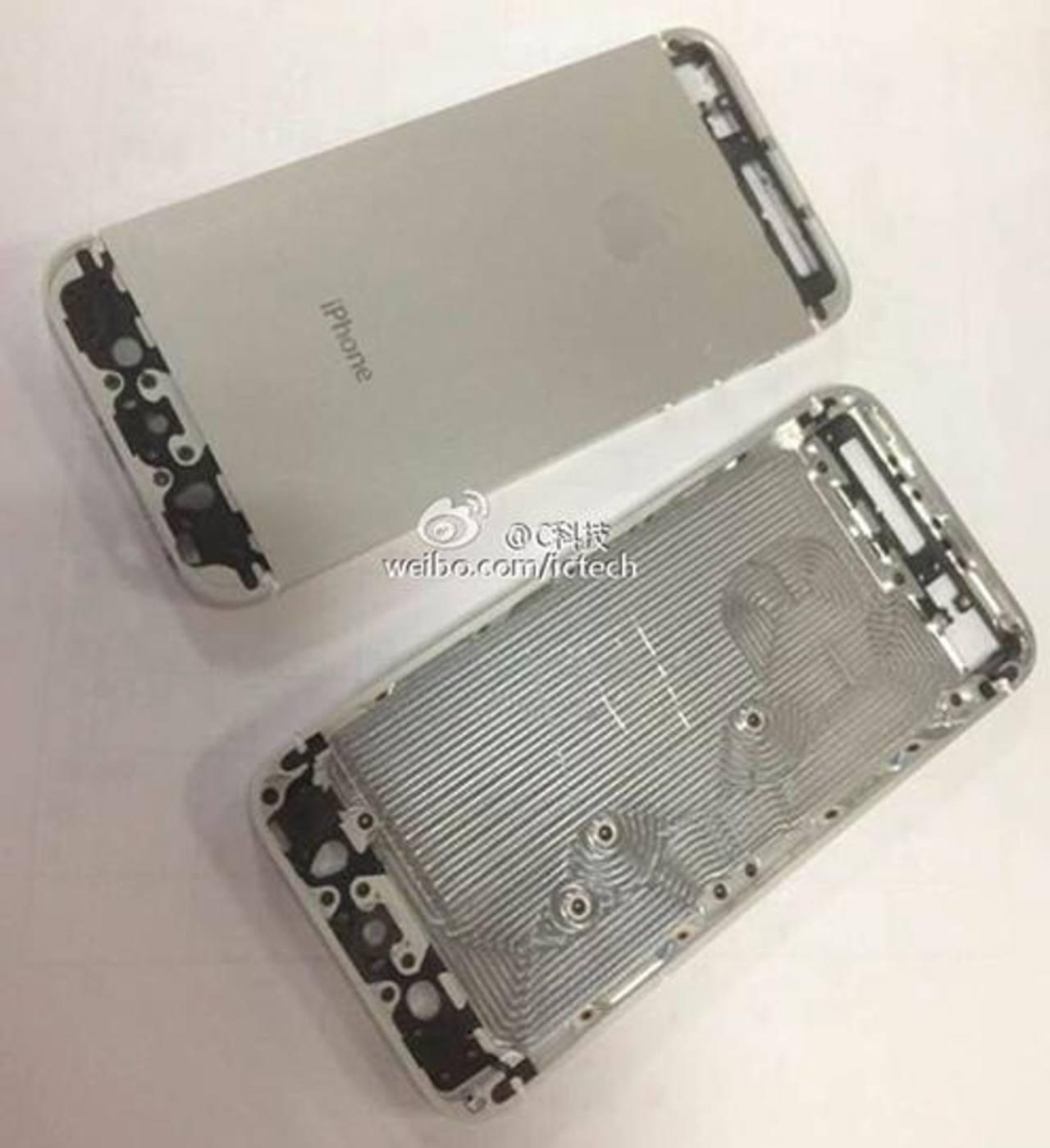 Esta es una de las imágenes reveladas por el fabricante del nuevo iPhone 5S