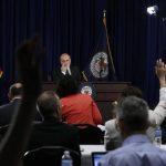 El presidente de la Reserva Federal, Ben Bernanke, en conferencia de prensa, al abordar los planes para reducir sus estímulos monetarios.