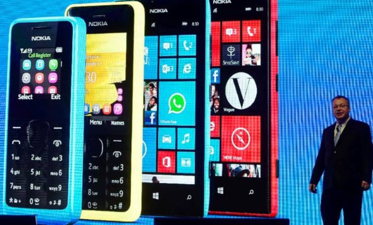 Ventas de Nokia bajan un 24% en 2do trimestre