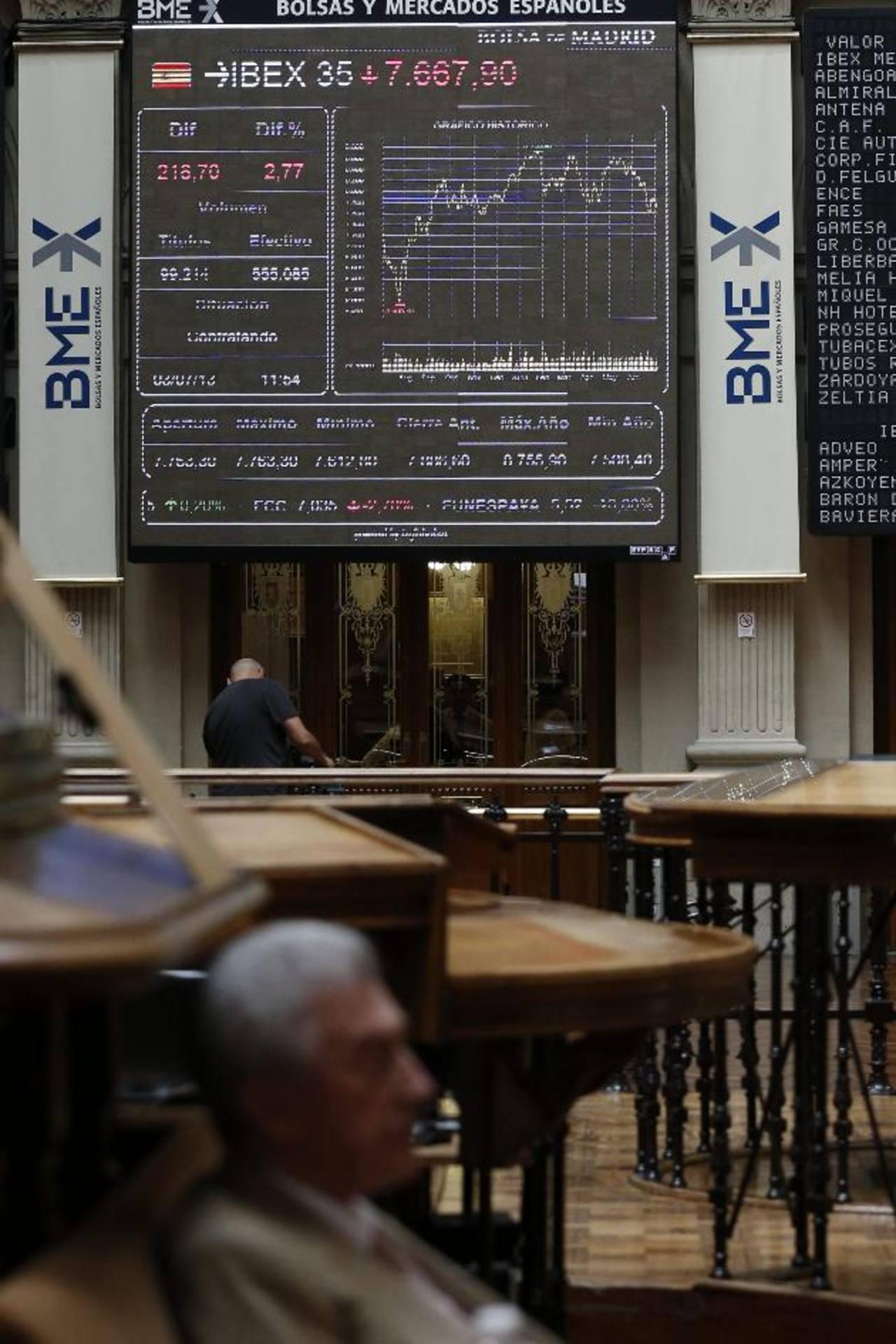 foto: expansión/ ARCHIVO EDHEl índice Ibex descendió 2.78, la mayor caída de los mercados europeos en la jornada de este miércoles, cuando afecta el conflicto en medio oriente y el decrecimiento de China.