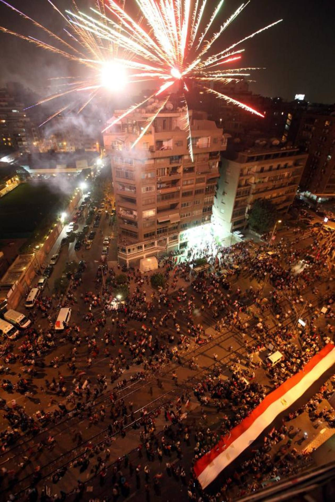 foto: expansión/ ARCHIVO EDHLos egipcios protestaron mientras su presidente Mohamed Mursi emitía un discurso televisivo en el que anunció una iniciativa para la unidad nacional y enmiendas constitucionales