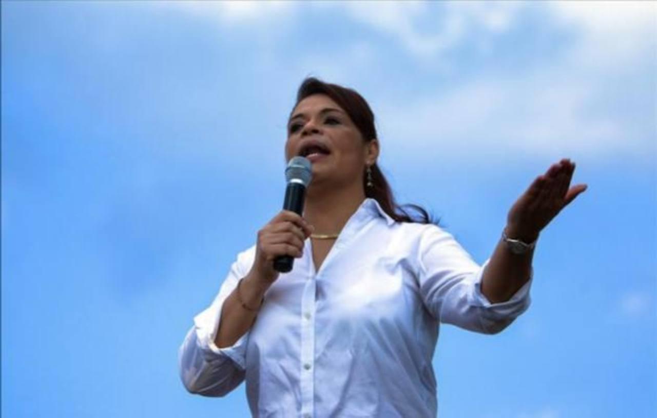 La vicepresidenta guatemalteca Roxana Baldetti.