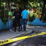 Escena del doble homicidio en Montebello, Mejicanos. Foto EDH /Jaime Anaya