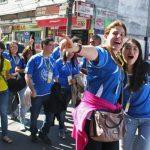 Peregrinos de la Paz siguen en misión en Río de Janeiro