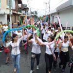 Marcha por la paz en Quezaltepeque.