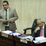 El presidente de la Asamblea Legislativa, Sigfrido Reyes, no ha respondido a las peticiones de la Sala. Foto EDH / Jorge Reyes.