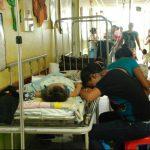 Área pediátrica del hospital San Pedro a punto de colapsar