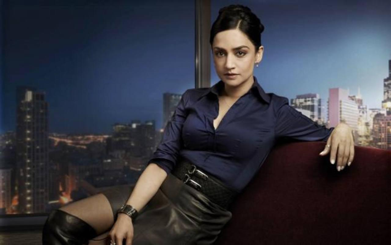 Panjabi es la detective Kalinda Sharma en la serie de televisión que la llevó al éxito y la fama.