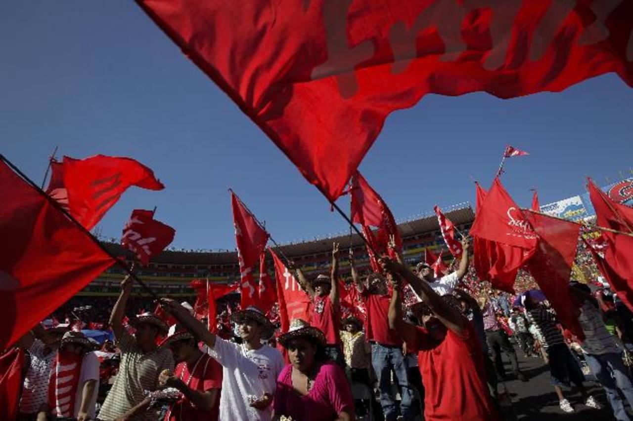 El FMLN reúne cerca de 700 delegados en su convención anual, que este año se hará el 18 de agosto. foto edh / archivo