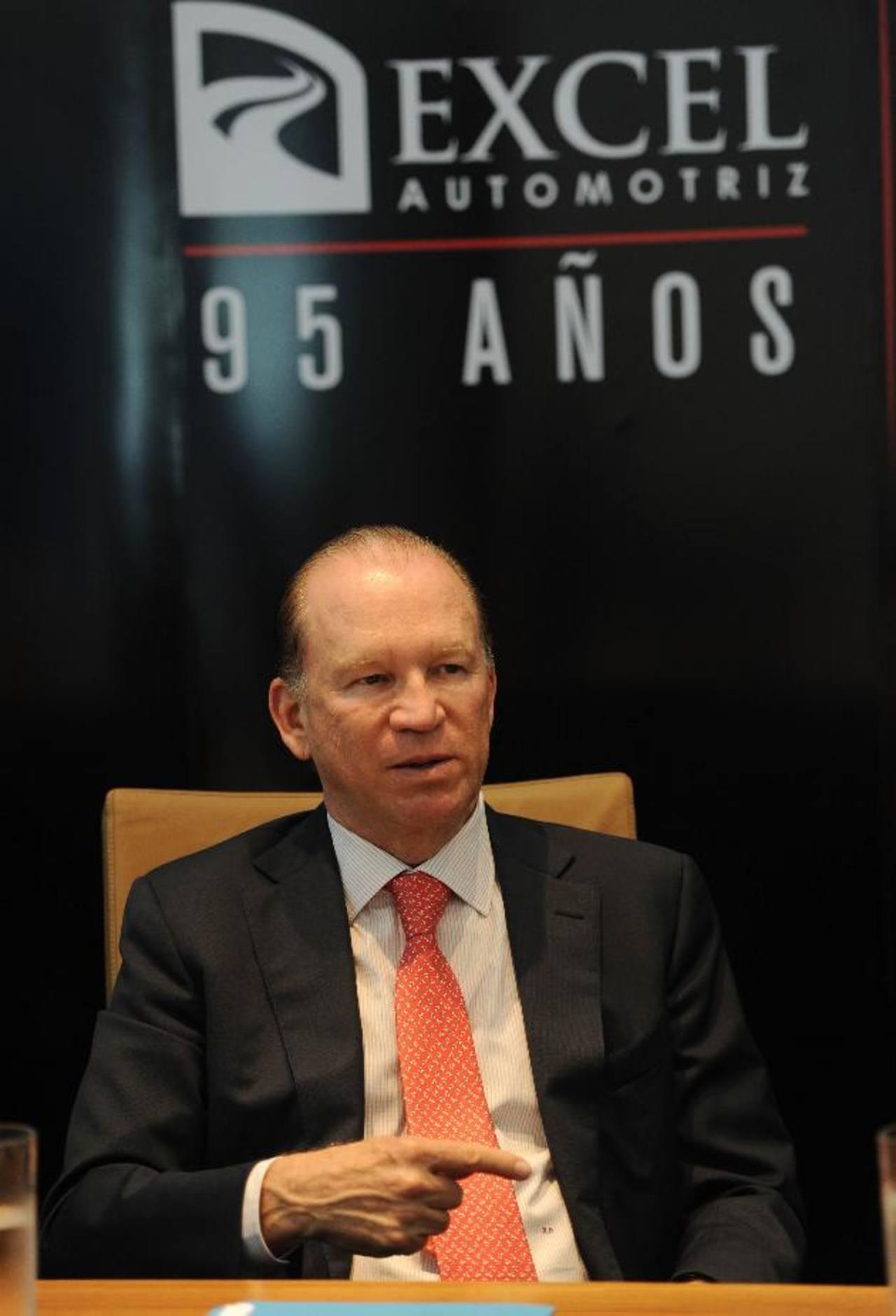 Ricardo Poma, presidente de Excel Automotriz.