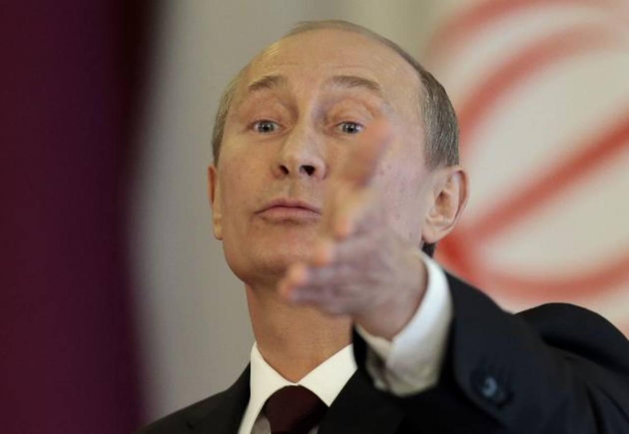 El presidente de Rusia, Vladimir Putin. foto edh / archivo