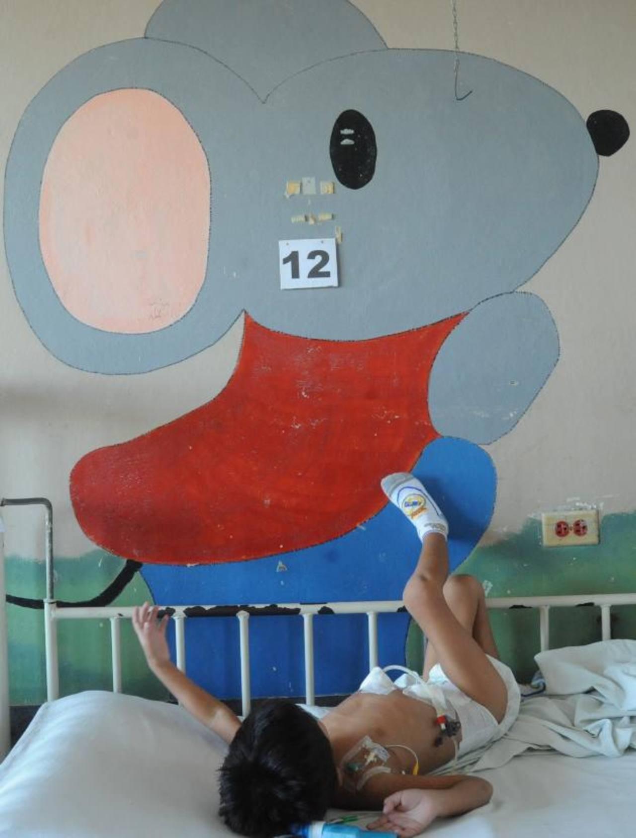 Waldemar está internado desde enero en el hospital Bloom. Foto EDH / archivo