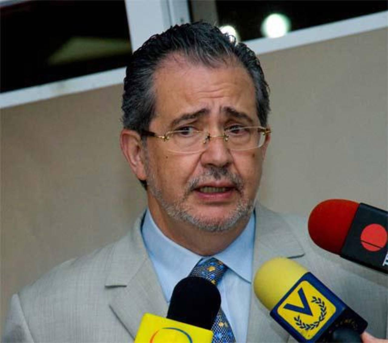 El director del diario El Nacional, Miguel Henrique Otero.