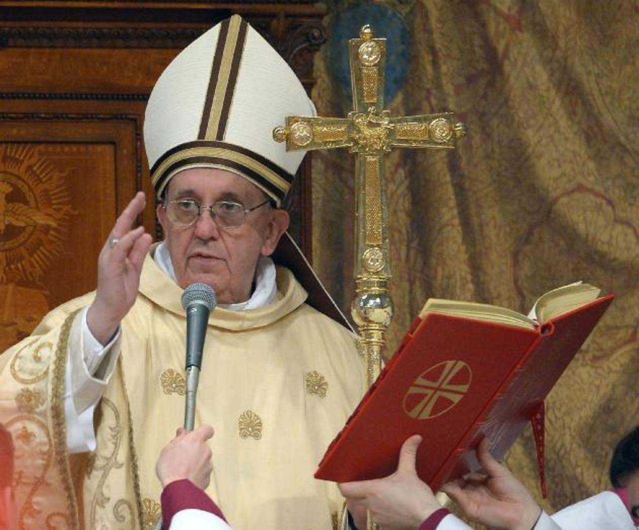 El Papa Francisco aprobó una reforma del código penal de la Santa Sede y del Estado de la Ciudad del Vaticano. foto edh