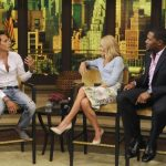 "Marc Anthony durante la entrevista ""Live with Kelly and Michael"". Foto / AP"