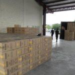 Más de 72 mil suman los paquetes de cigarrillos incautados en frontera El Amatillo. Foto EDH / Cortesía