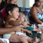 La idea de que un niño gordito es saludable es refutada por los nutricionistas. Estos bebés serán propensos a enfermedades como la diabetes. Foto EDH / Miguel Villalta