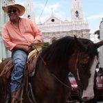 Imagen de archivo santaneco Roberto Antonio Herrera, detenido la tarde del pasado domingo en una feria ganadera en Santa Ana. Foto EDH