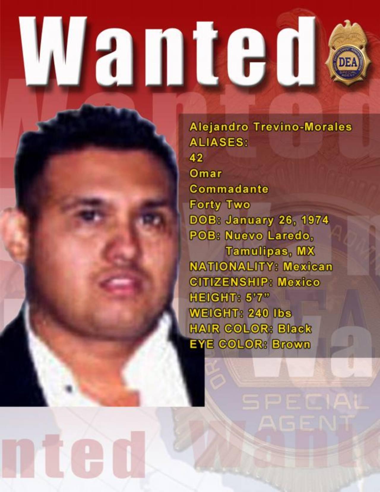 Omar Treviño Morales, hermano menor del Z-40, es situado en el mismo grado de violencia criminal que su hermano Miguel Ángel. foto edh /internet