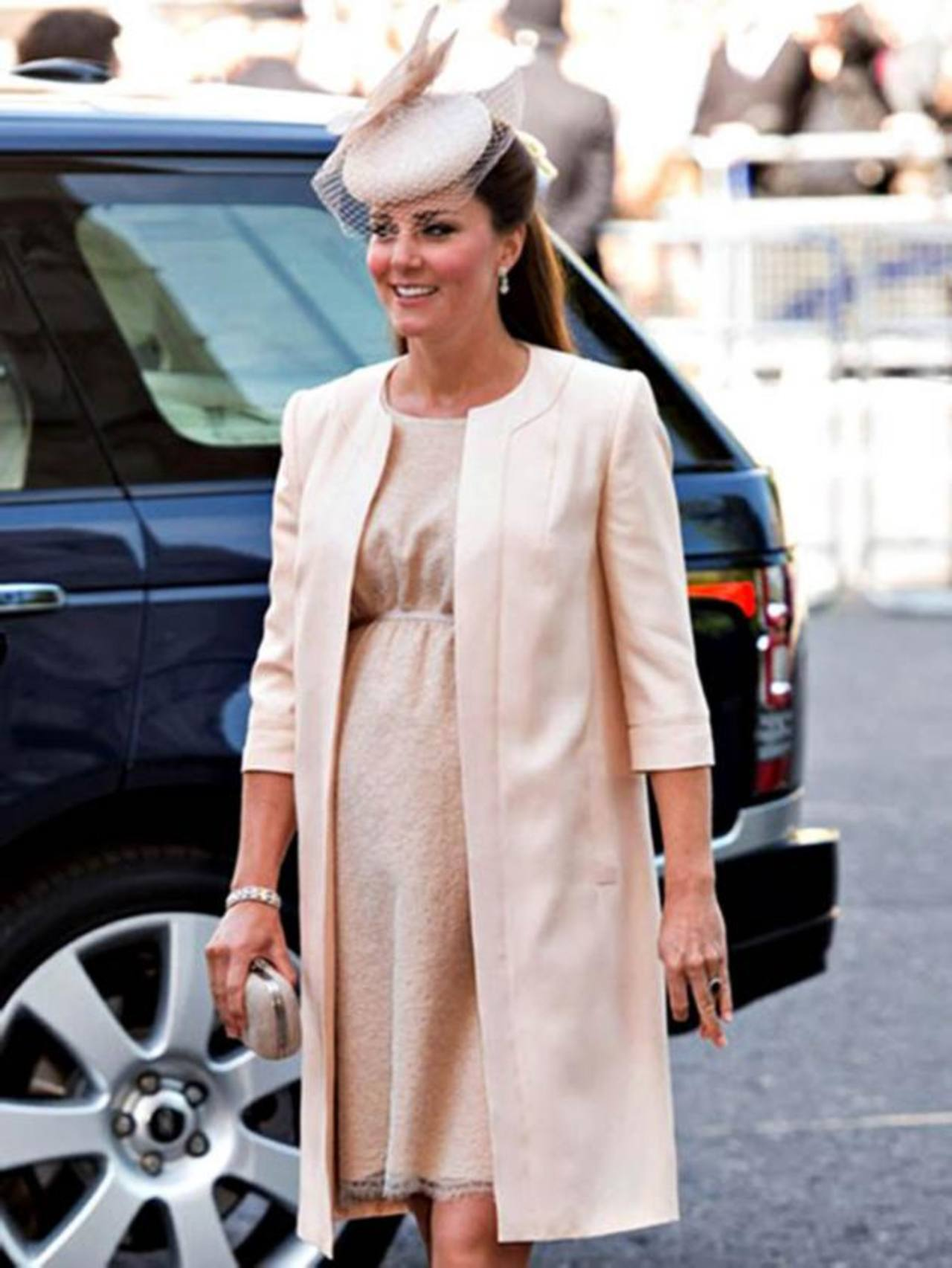 Kate Middleton regresó a Londres para dar a luz.