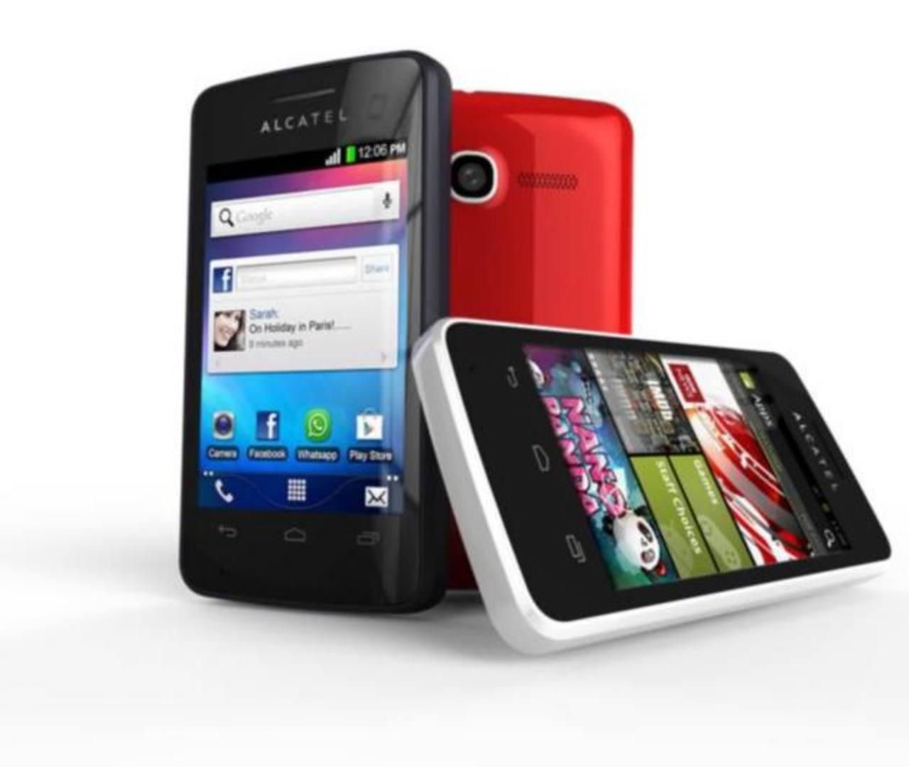 El compacto, el versátil y el más ligero de Alcatel