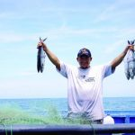Pescadores artesanales de El Cuco participarán del programa con Walmart. Foto EDH /cortesía