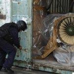Hallan motores de aviones MiG en barco norcoreano