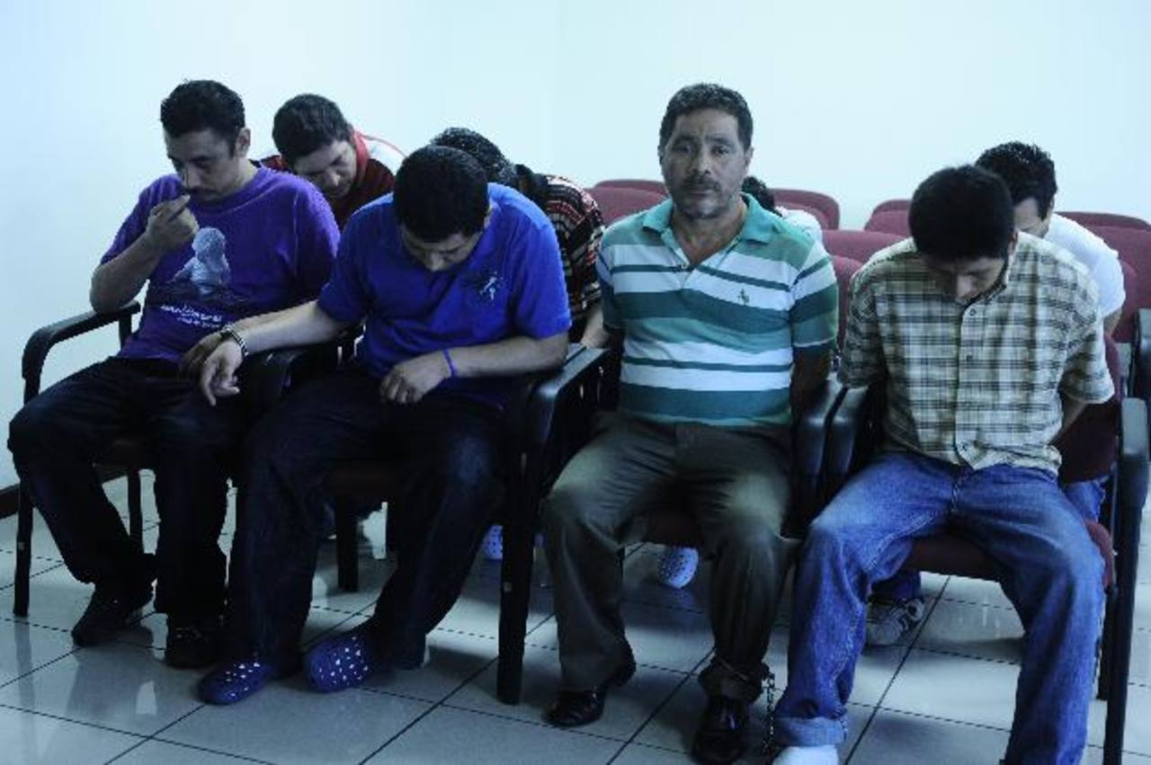 La banda de 10 sujetos asaltaba residencias de empresarios y personas con recursos económicos. Foto EDH / Jorge Reyes.