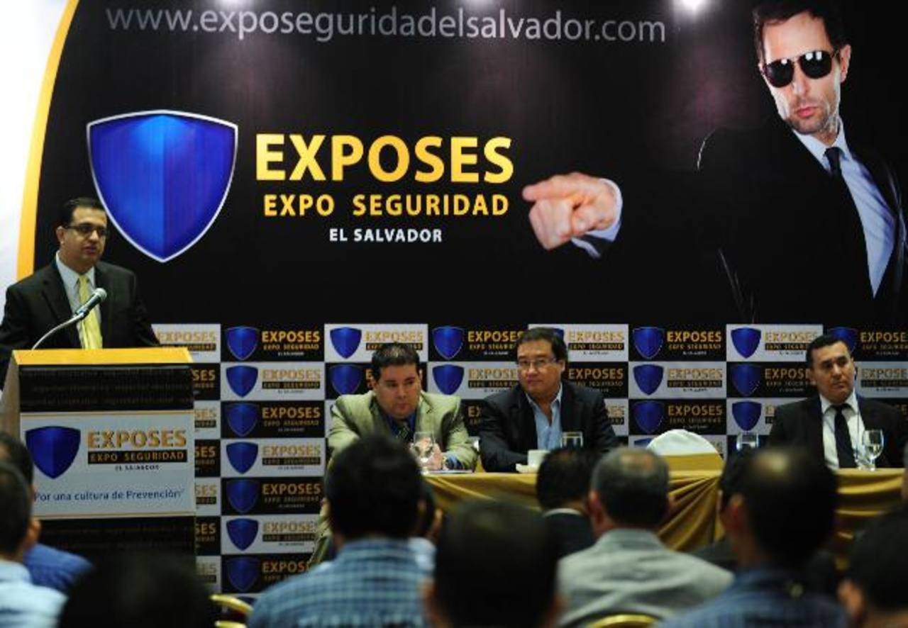 La Expo-Seguridad mostró lo mejor en seguridad corporativa, industrial e informática. Foto edh/ Lissette lemus