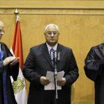 Adly Mansur juramentó como presidente internino de Egipto tras la destitución de Mohamed Morsi. FOTO AP