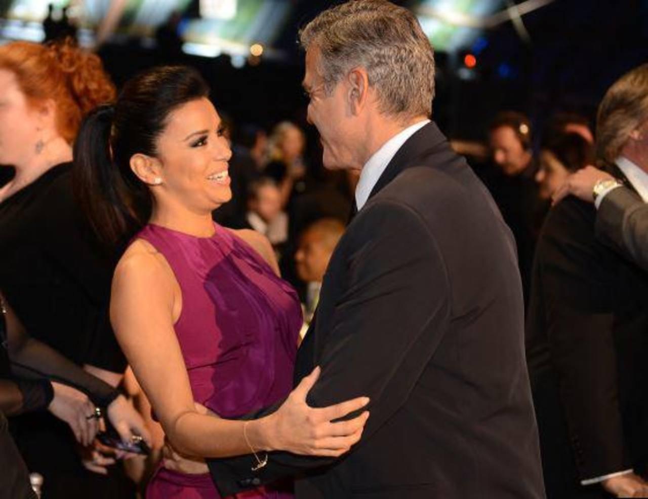 Eva Longoria habría rechazado a George Clooney