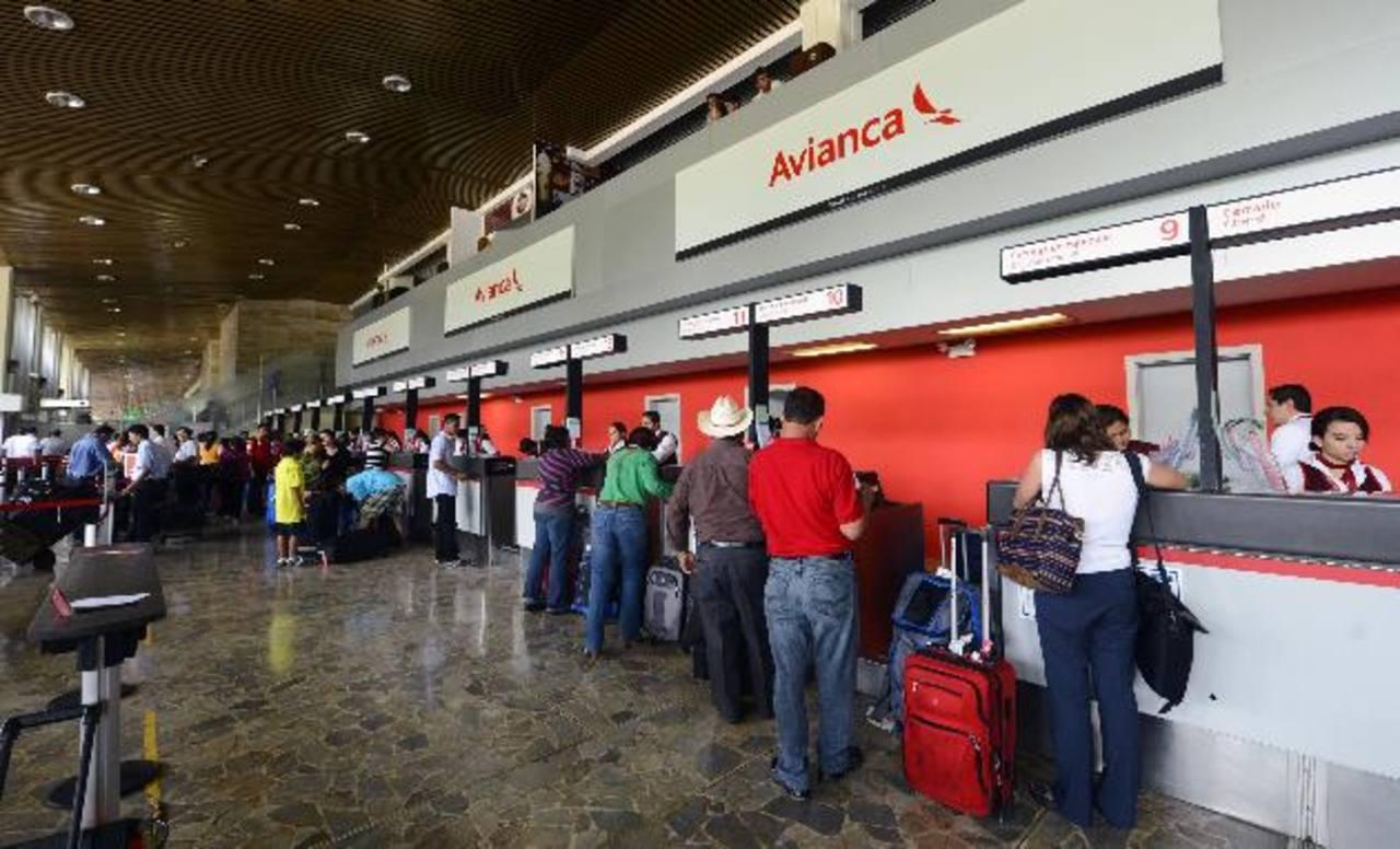 La terminal de pasajeros busca acelerar sus procesos de atención. FOTO EDH / MARVIN RECINOS