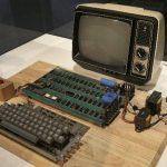 Computadora Apple 1. Foto/ AP