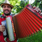 "Dimas ""Chuchini"" Monge, vocalista. Foto EDH/Hubert Rosales"