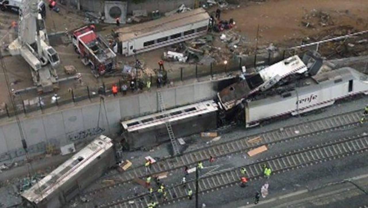 Policía indaga llamada a conductor de tren español